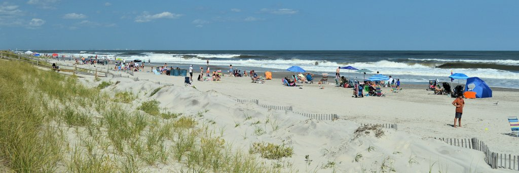 The beach, Sea Isle City